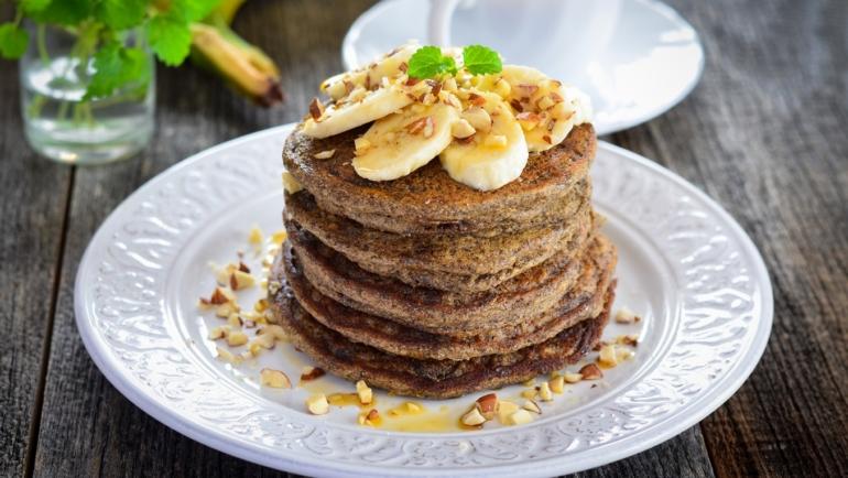 Zdrave palačinkice od heljdinog brašna