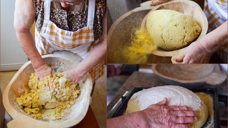 Domaći kuruzni kruh