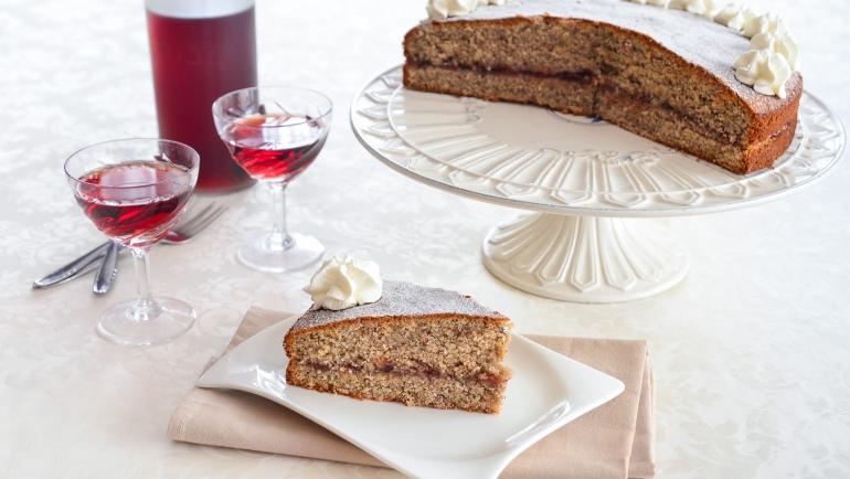Tirolska torta od heljdinog brašna